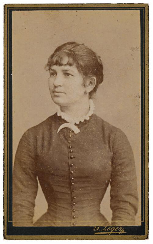 Gusztáv Löger - Portrét ženy