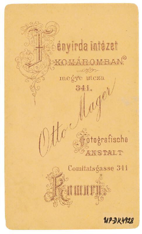 Otto Mager - Skupinový portrét piatich mužov