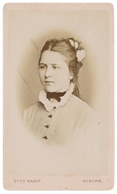 Otto Mager – Portrét mladej ženy
