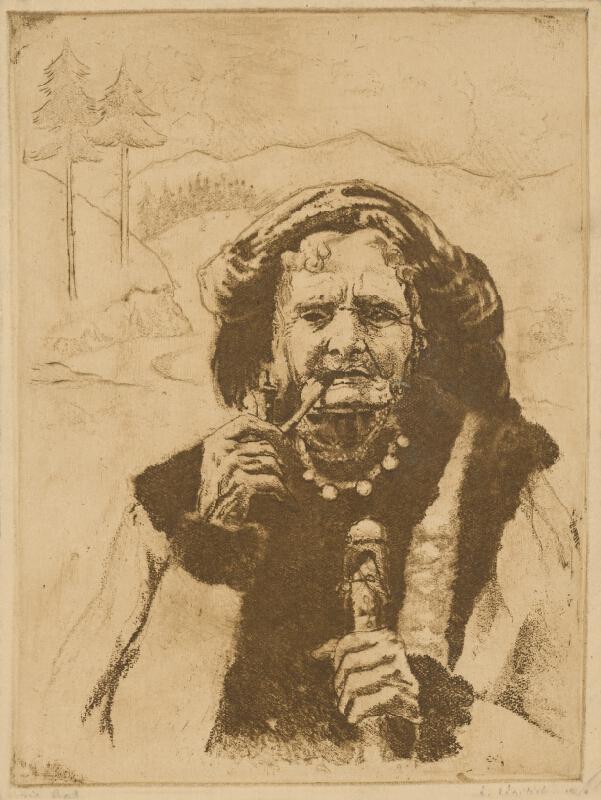 Aurel Kajlich - Starý pastier