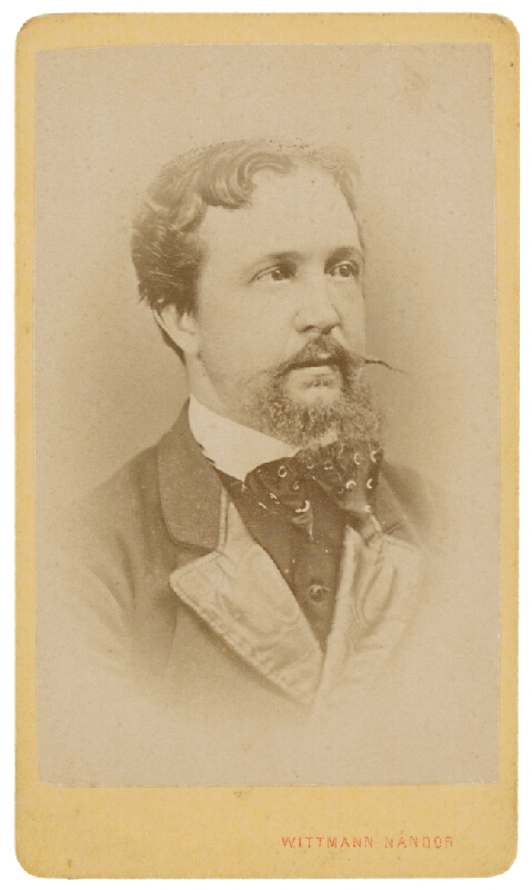 Nándor Wittmann – Portrét muža