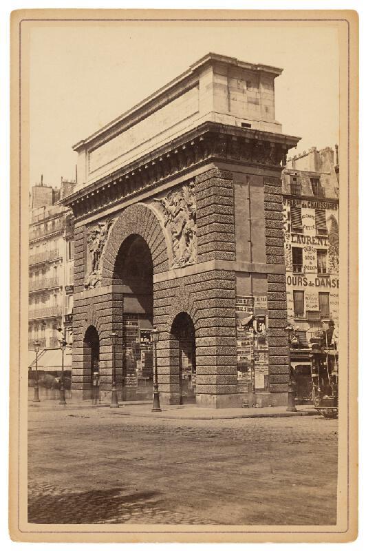 Neznámy autor - Paríž. Brána sv. Martina (Porte Saint-Martin)