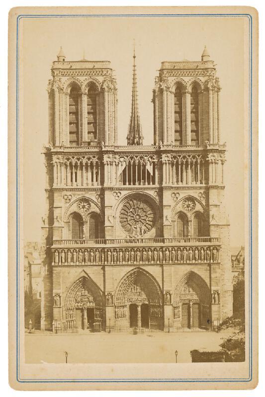Neznámy autor – Paríž. Chrám Matky Božej (Cathédrale Notre Dame)