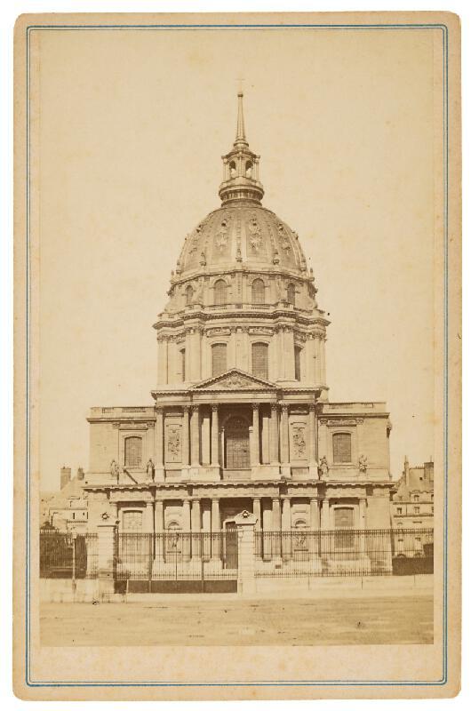 Neznámy autor – Paríž. Kostol sv. Ľudovíta v Invalidovni (Église Saint-Louis-des-Invalides)