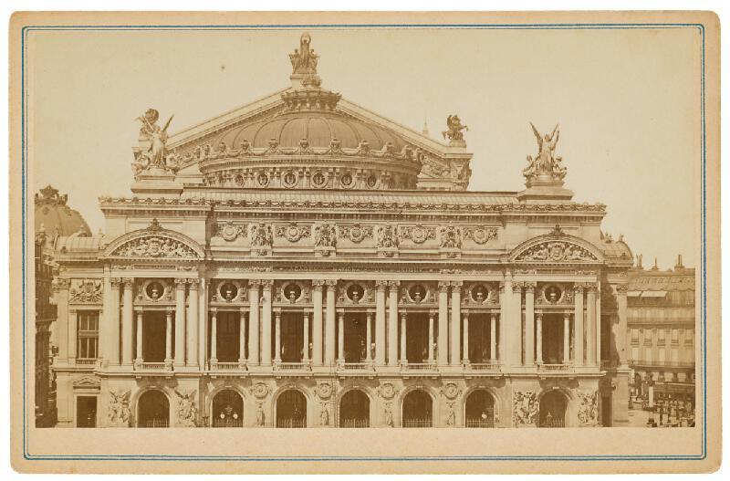 Neznámy autor – Paríž. Opera (L´Opera)