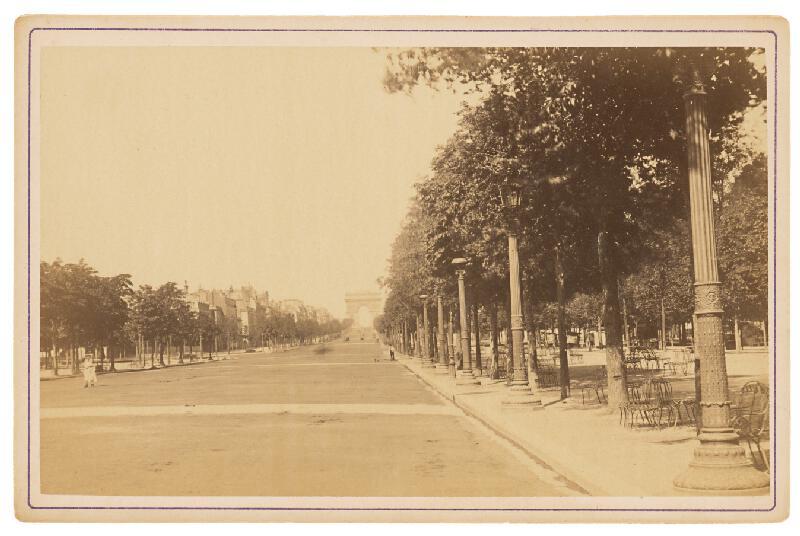 Ziegler & Cie. Éditeur – Paríž. Elyzejské polia (Avenue des Champs-Élysées), 1873 – 1884, Slovenská národná galéria