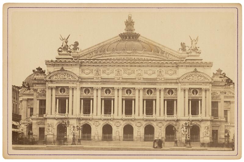 Ziegler & Cie. Éditeur – Paríž. Opera (Nouvel Opéra)
