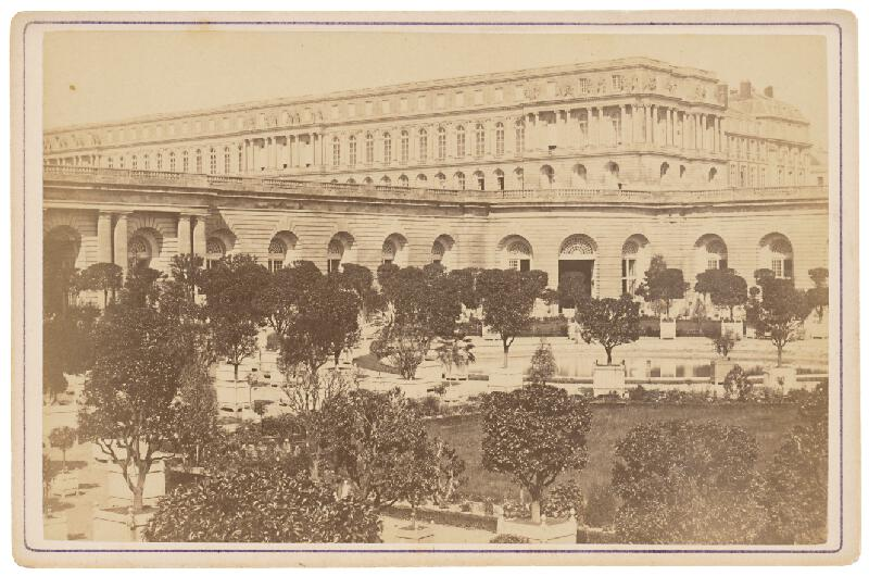 Ziegler & Cie. Éditeur – Paríž. Oranžéria vo Versaille (L´Orangerie á Versailles).