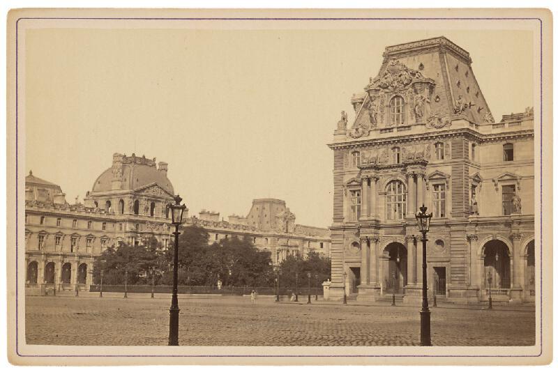 Ziegler & Cie. Éditeur - Paríž. Palác Louvre (Le Louvre)