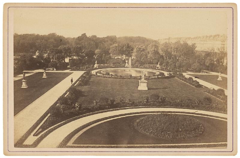 Ziegler & Cie. Éditeur - Paríž. Tuilerijské záhrady (Jardin des Tuilleries)