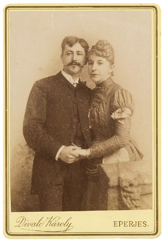 Karol Divald – Portrét muža a ženy