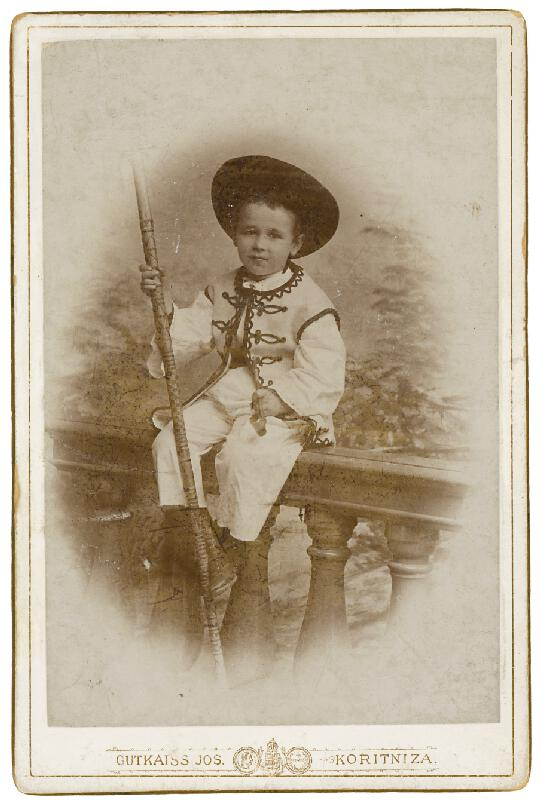 József Gutkaiss - Portrét chlapca