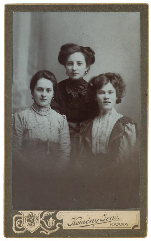 Jenő Kemény – Portrét troch žien