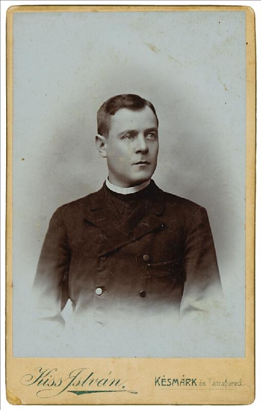 István Kiss - Portrét muža