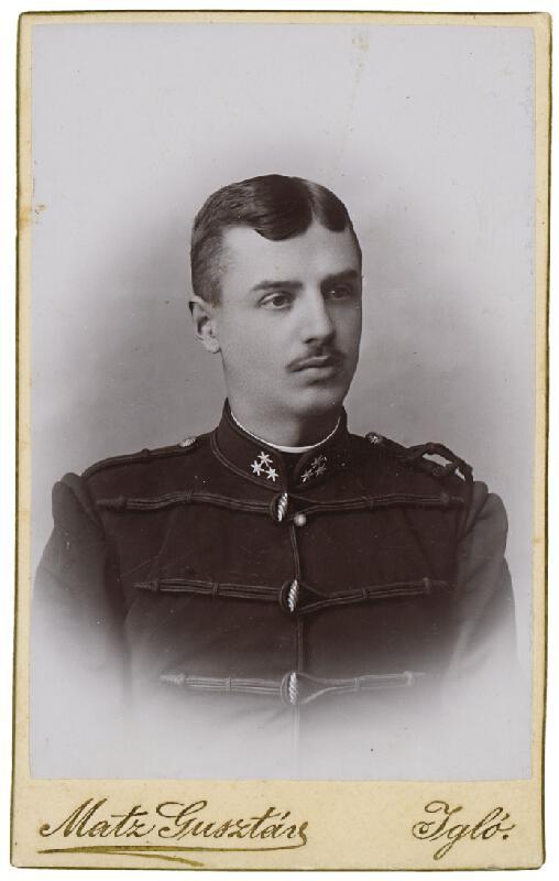 Gusztáv Matz - Portrét muža