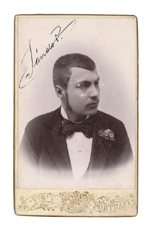 Dezsö Pólányi – Portrét mladého muža