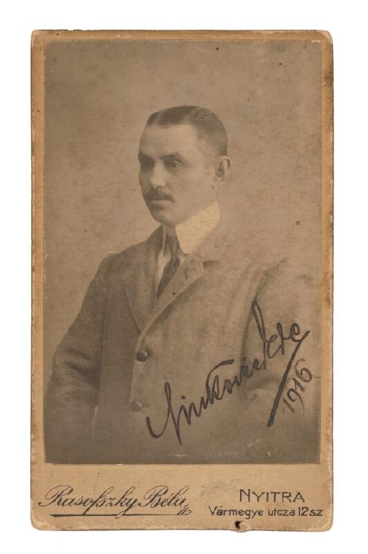 Béla Rasofszky – Portrét muža