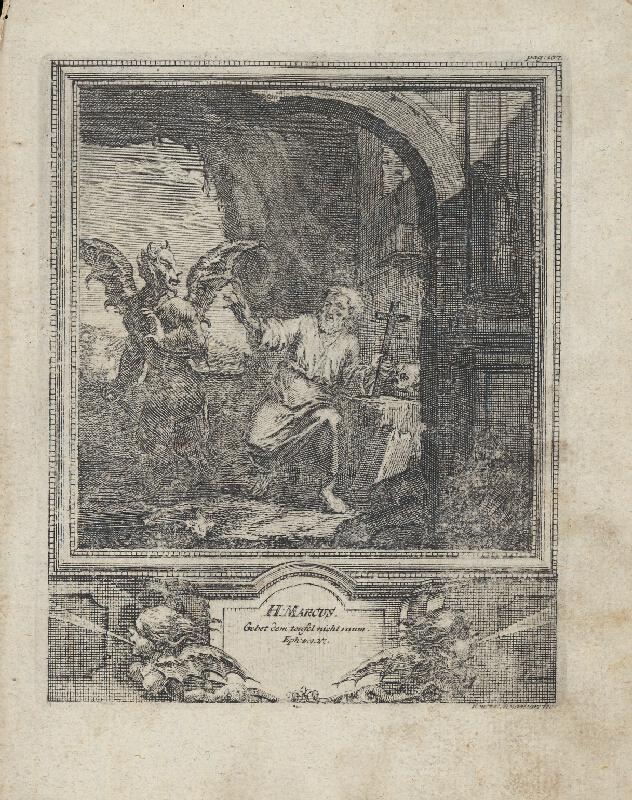 Michael Heinrich Rentz - Sv. Marcus