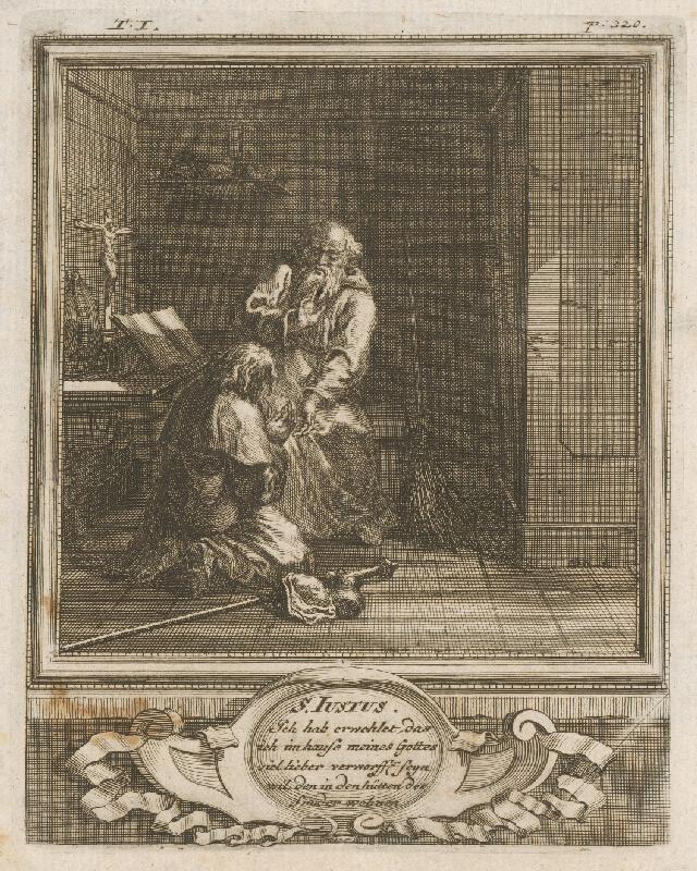 Michael Heinrich Rentz - S. Iustus