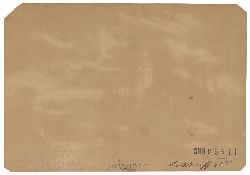 Friedrich Carl von Scheidlin - Romantická krajina so štafážou