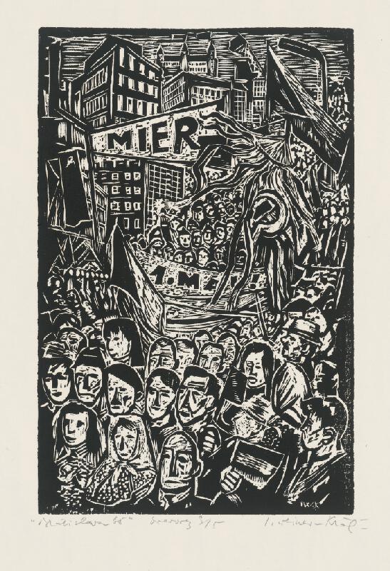 Imrich Weiner-Kráľ - 1. máj