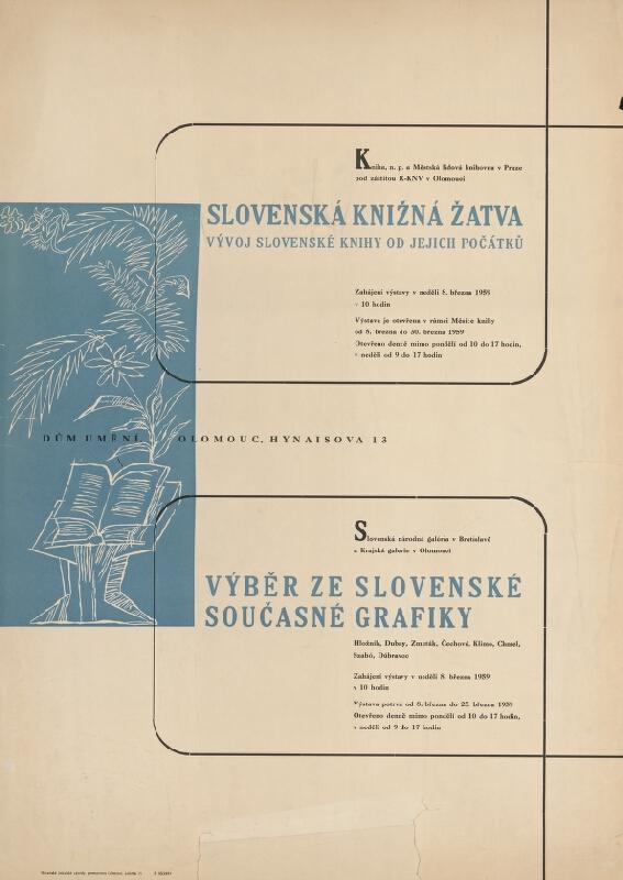 Olomoucký autor - Slovenská knižná žatva