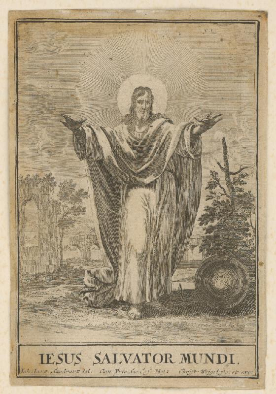 Christoph Weigel st., Jacob von  Sandrart - Kristus Vykupiteľ