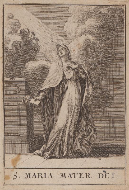 Christoph Weigel st., Jacob von  Sandrart - Sv.Mária Matka Božia