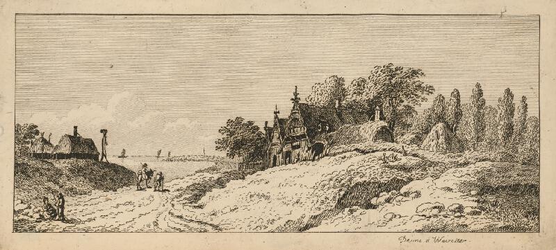 Franz Edmund Weirotter - Prímorská krajina