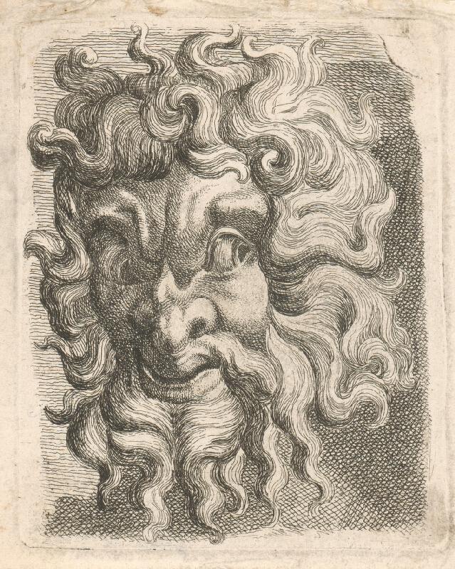 Západoeurópsky autor z 18. storočia - Maska II.