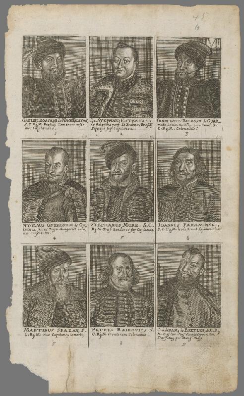 Lucas Schnitzer, Paul Fürst - Šľachtické portréty