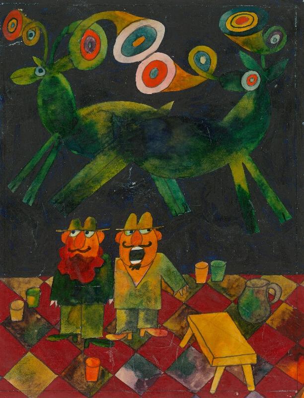 Ondrej Zimka - Zelené jelene