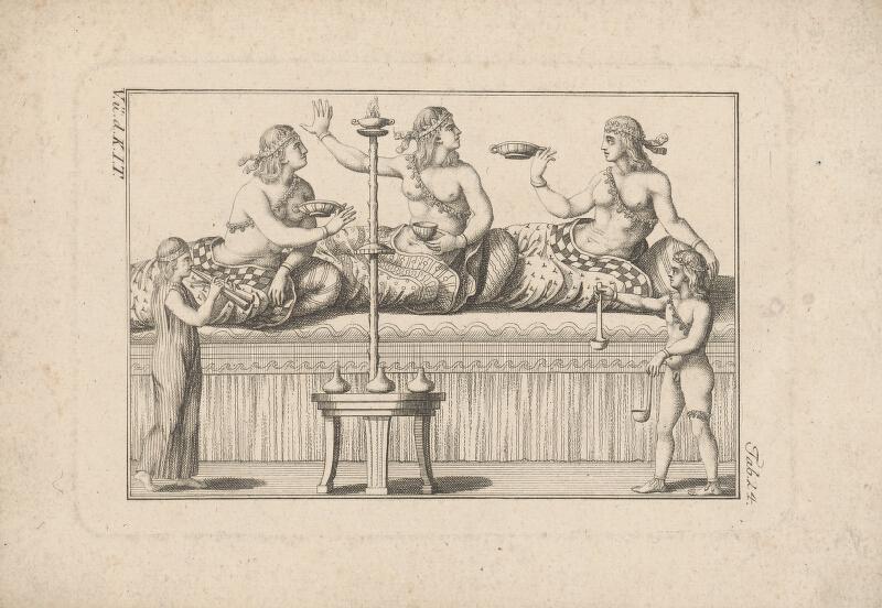 Západoeurópsky autor z 18. storočia - V.V.d.K.IT - Babylonská hostina