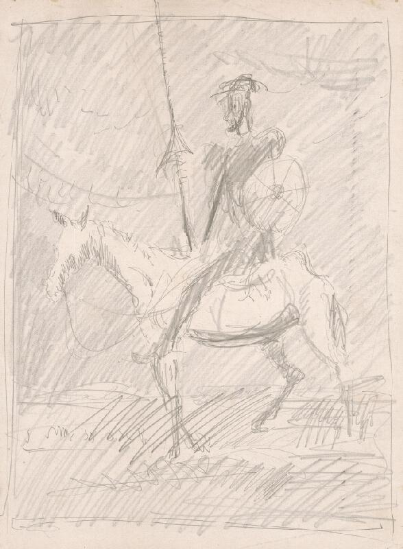 Cyprián Majerník - Štúdia Dona Quijota
