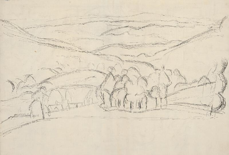 Ernest Zmeták - Stromy z Červeného Kameňa