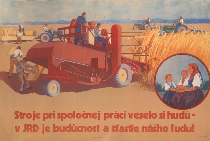 Slovenský autor - Stroje v JRD