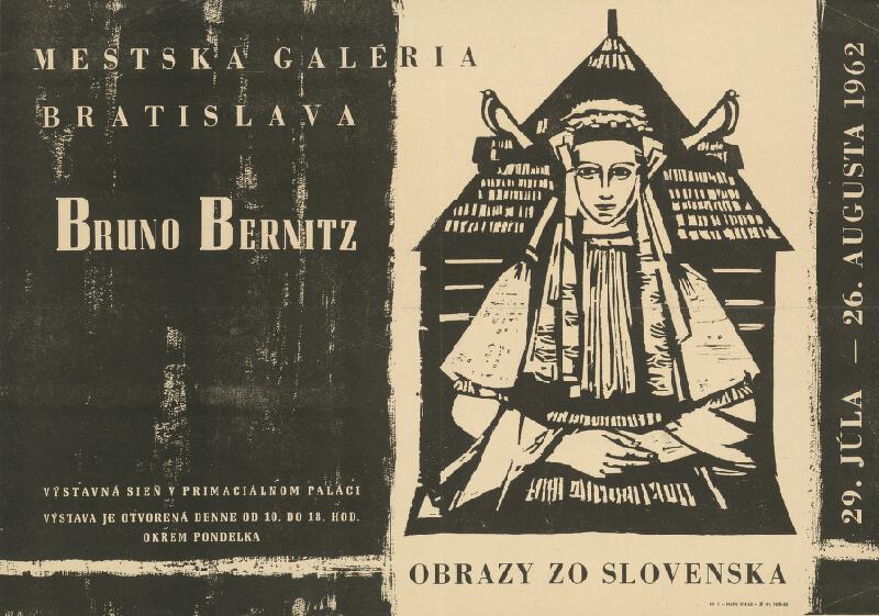 Slovenský autor - Obrazy zo Slovenska - Bruno Bernitz