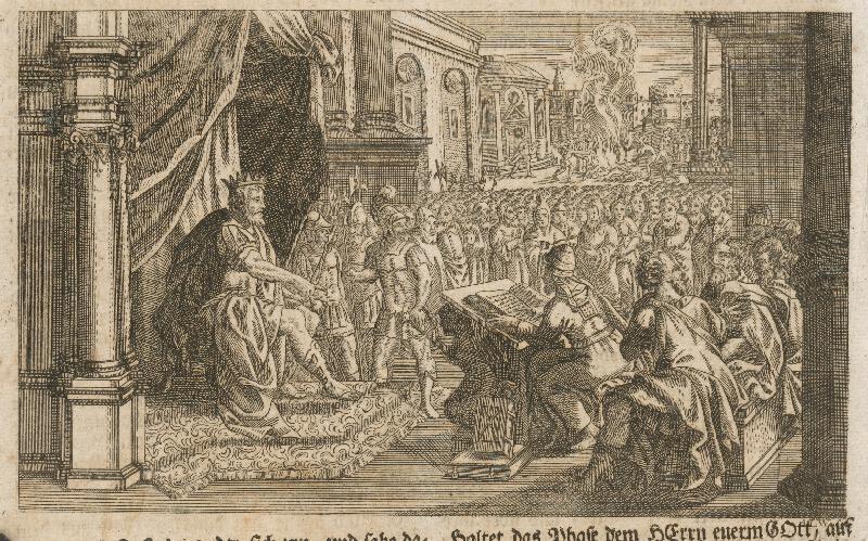 Adam Ludwig Wirsing - Izraelský kráľ