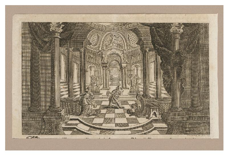 Adam Ludwig Wirsing - Chrámový interiér