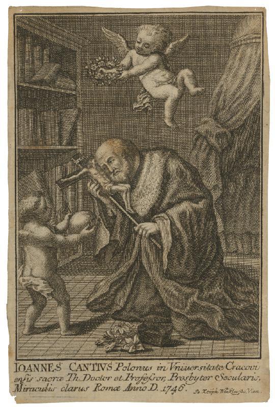 Christian Winkler - Ioannes Cantius Polonus in Universitate Cracovi