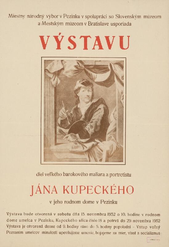 Slovenský autor - Výstava Jána Kupeckého