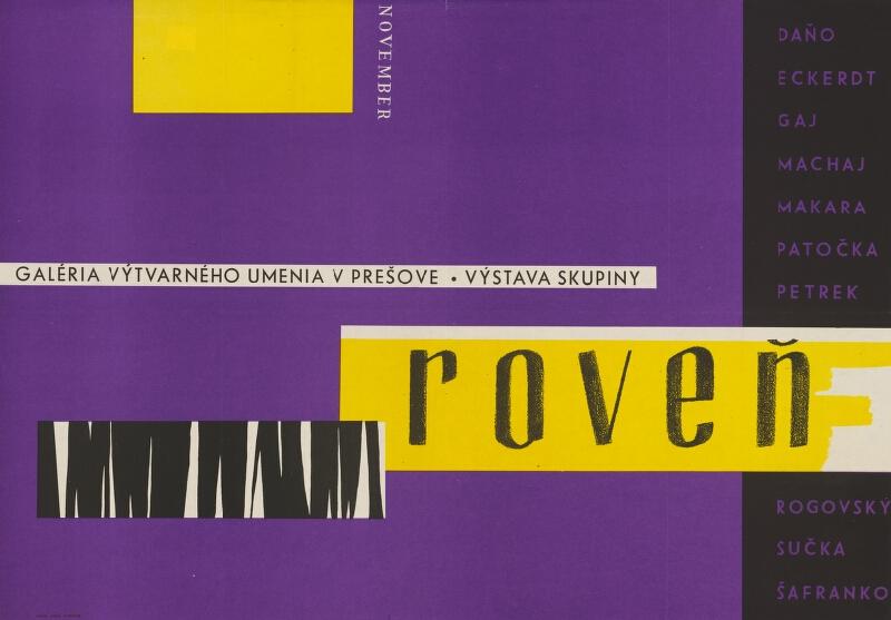 Slovenský autor - Výstava skupiny Roveň
