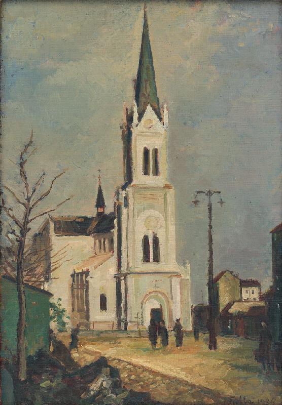 Ľudovít Fulla - Blumentálsky kostol