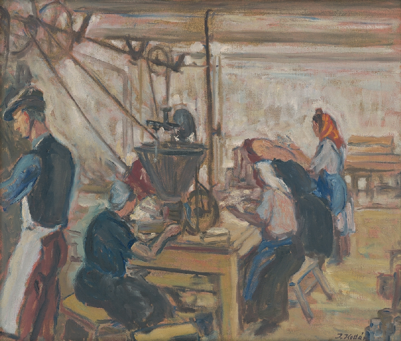 Jozef Kollár - V továrni