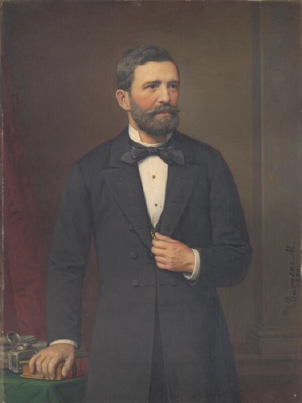 Miklós Barabás - Portrét muža