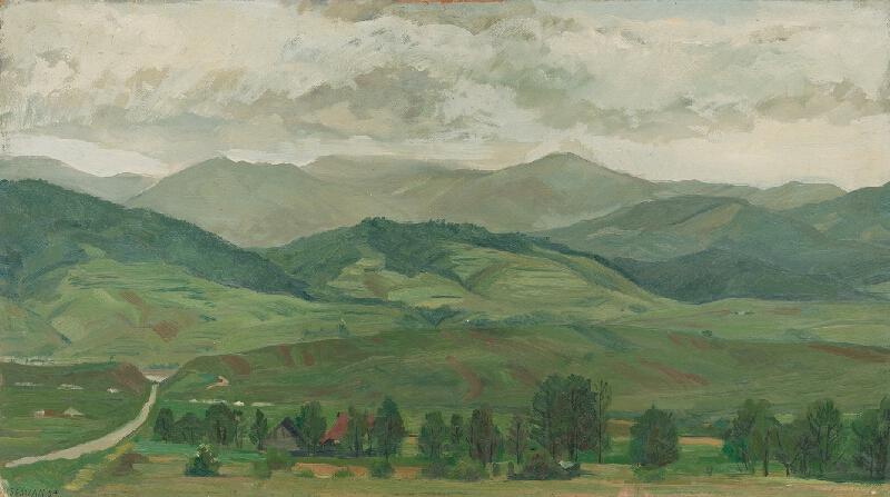 Ervín Semian - Krajina od Brezna