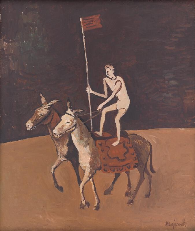 Cyprián Majerník – Artista na koňoch