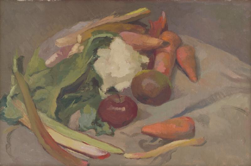 Vladimír Gessay - Zátišie so zeleninou