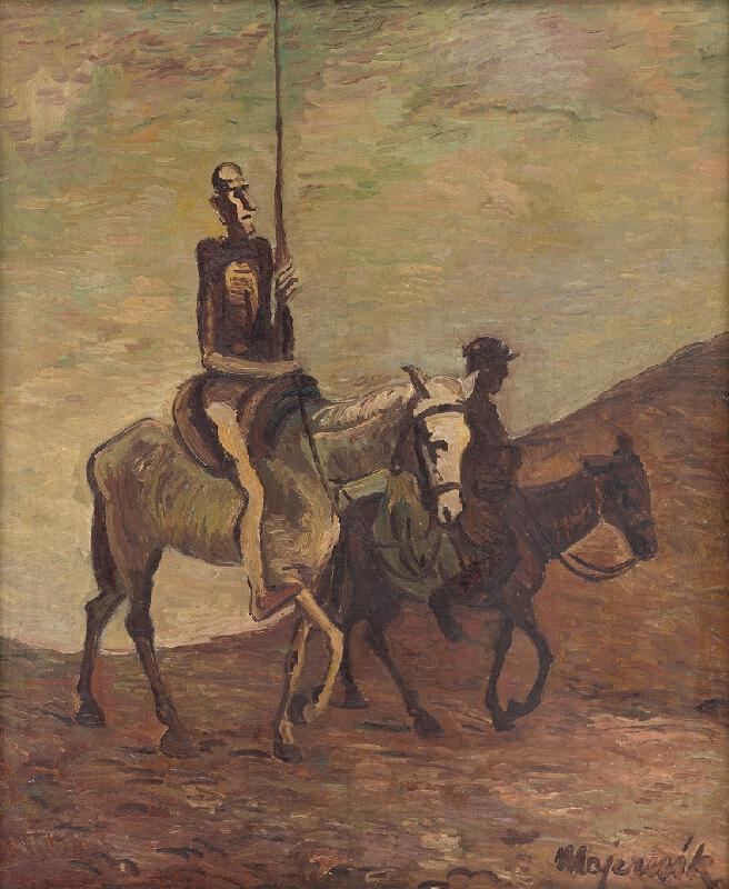 Cyprián Majerník - Don Quijote a Sancho Panza