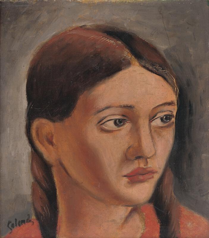 Mikuláš Galanda - Hlava dievčaťa